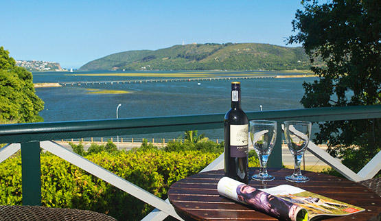 View from a Knysna Guest House.